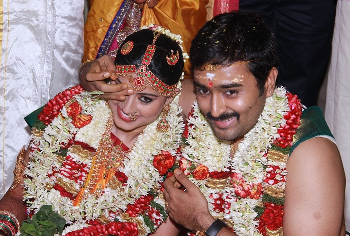 Prasanna Sneha Wedding Stills (8)