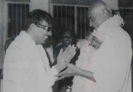 kamaraj with karunanithi