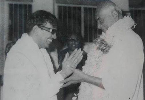 kamaraj with karunanithi