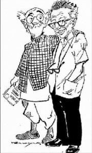 காமன்மேனுடன் ஆர்.கே.லட்சுமண்