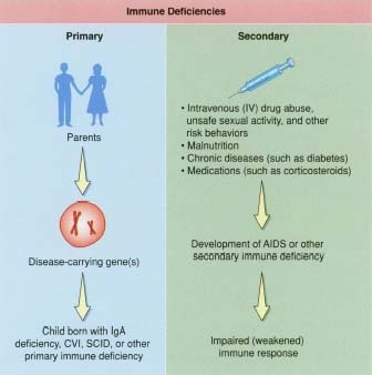 Primary Immune deficiency disorder